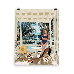 Tropical Nook Poster - Amelia Noyes Design
