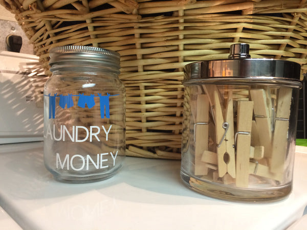 Laundry Money Coin Bank - Red River Valley Designs