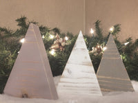 Primitive Christmas Trees - Set of 3 - Red River Valley Designs