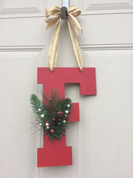 Christmas Door Hanger - Red River Valley Designs