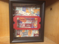 Ticket Stub Holder, Shadow Box Art - Red River Valley Designs