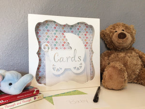 Baby Shower Card Box, Card Holder, Gift Card Box, New Mother Gift, Baby Shower Decor