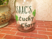 Lucky Charms Personalized Money Bank - Red River Valley Designs