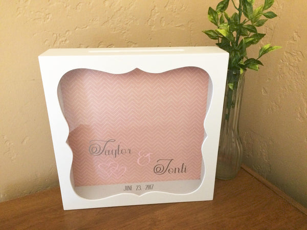 Personalized Wedding Card Box - Red River Valley Designs