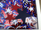 Red White and Blue Star Patriotic Decor - Red River Valley Designs