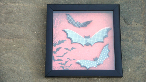 Spooky Bat Decal Halloween Decoration - Red River Valley Designs