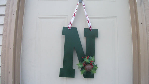 Personalized Christmas Door Hanger