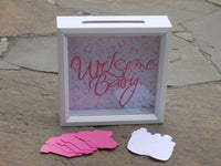 New Mommy Advice Box - Baby Shower Game - Red River Valley Designs
