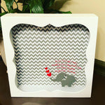 Infant Loss Keepsake Shadow Box - Red River Valley Designs