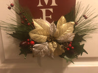 Traditional Christmas Hanging Welcome Sign - Red River Valley Designs