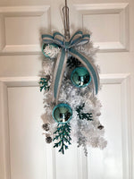 Winter Wonderland Door Swag - Red River Valley Designs