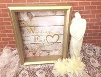 Wedding Fund Engagement Gift - Red River Valley Designs