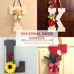 Seasonal Door Hanger Subscription Box - Red River Valley Designs