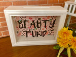 Beauty Fund Shadow Box Bank - Red River Valley Designs