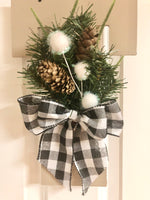 Neutral Winter Door Hanger - Red River Valley Designs