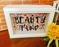 Beauty Fund Shadow Box Bank