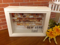 New Home Fund- Shadow Box Bank - Red River Valley Designs