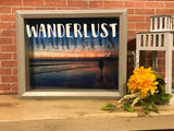 Wanderlust Travel Fund and Ticket Stub Holder - Red River Valley Designs