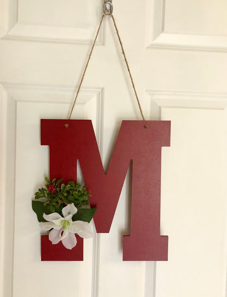 Minimalist Christmas Door Hanger - Red River Valley Designs