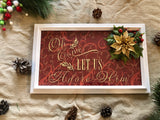 Christmas Decoration Wall Frame - Red River Valley Designs