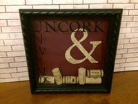 Wine Shadow Box Frame - Red River Valley Designs