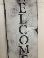 Rustic Farmhouse Welcome Sign - Red River Valley Designs