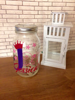 Princess Piggy Bank Personalized Money Jar - Red River Valley Designs