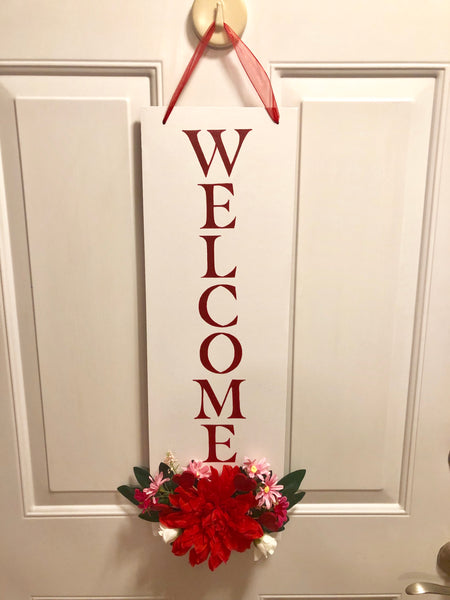Valentines Day Hanging Welcome Sign - Red River Valley Designs