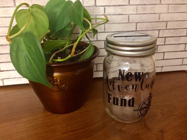New Adventures Fund Money Jar