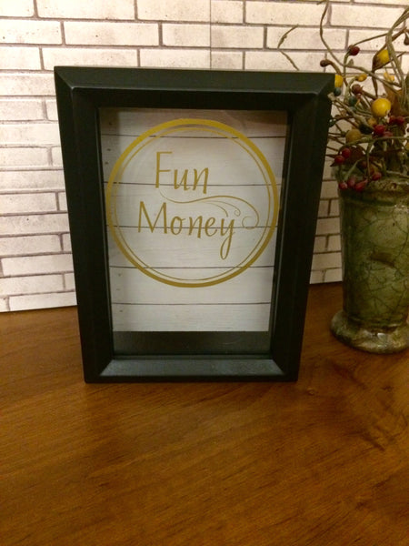 Fun Money Savings Bank - Red River Valley Designs