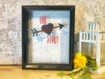 Love Keepsake Shadow Box - Red River Valley Designs