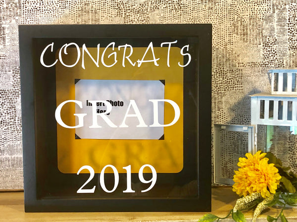 Graduation Guest Book Shadow Box - Red River Valley Designs