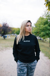 Ballinthe6 Remix Fleece Crewneck