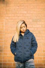6° Puffer Jacket - Navy Blue