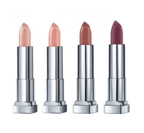 4 pc MAYBELLINE Color Sensational Lipstick Set