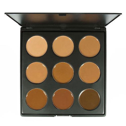 MORPHE 9FW Warm Foundation Palette