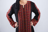 Zoom - Taditional black kaftan - Bayt Alya