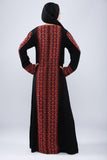 Back - Taditional black kaftan - Bayt Alya
