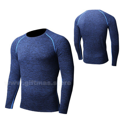 Long Sleeve Quick Dry Slim-Fit T-shirt