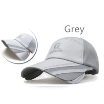 Retractable Visor Baseball Cap