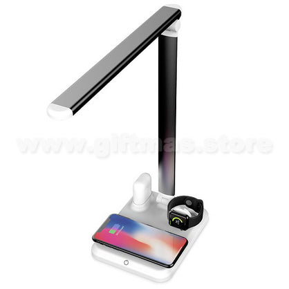 4 in 1 Wireless Charger LED Lamp