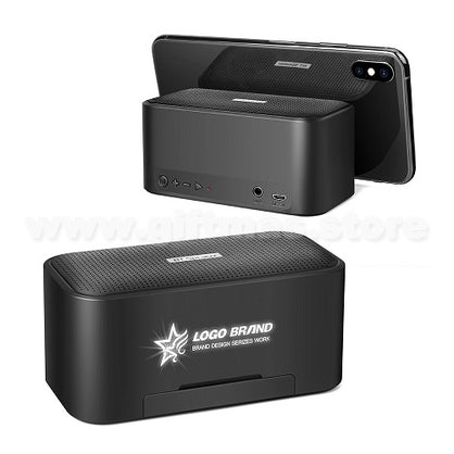 Light-up LOGO Wireless Speaker with Phone Stand
