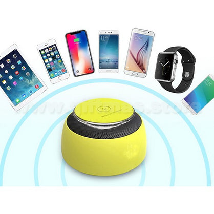 Bluetooth Speaker with Wireless charger