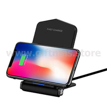 2 in 1 Foldable Wireless Charger Phone Stand
