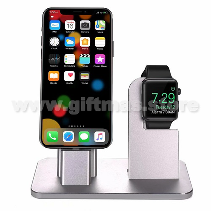 2 in 1 Charging Dock Station Stand Holder for Smart Phone & Watch