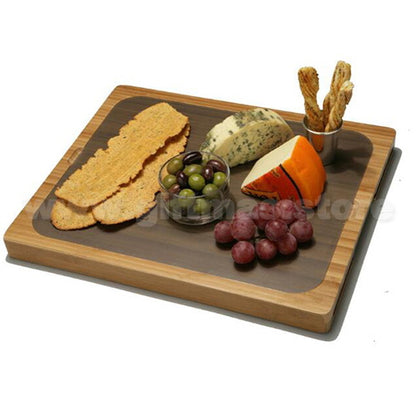 Easy-to-Clean Bamboo Cutting Board and 7 Color-Coded Flexible Cutting Mats with Food Icons