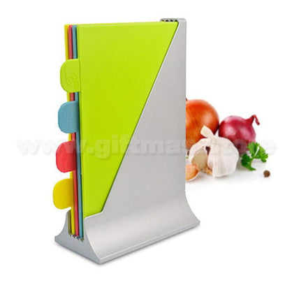 Index Cutting Boards Set with Storage Case