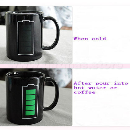 Magic Coffee Mug - colour changing