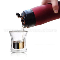 Portable Twist/Press Coffee Maker