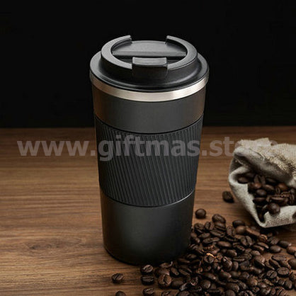 Double Wall Metal Coffee Mug